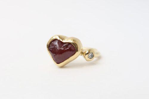 Heartshape Robijn