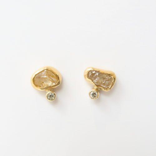 Ruwe Diamant en Briljant