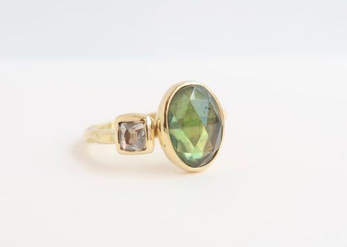 Diamant en Toermalijn