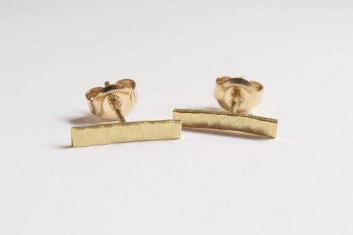 Schattige staafjes goud