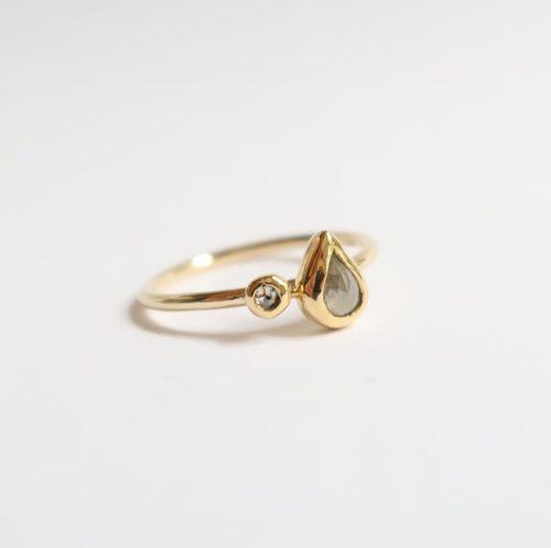 DruppelDiamant en ronde Diamant