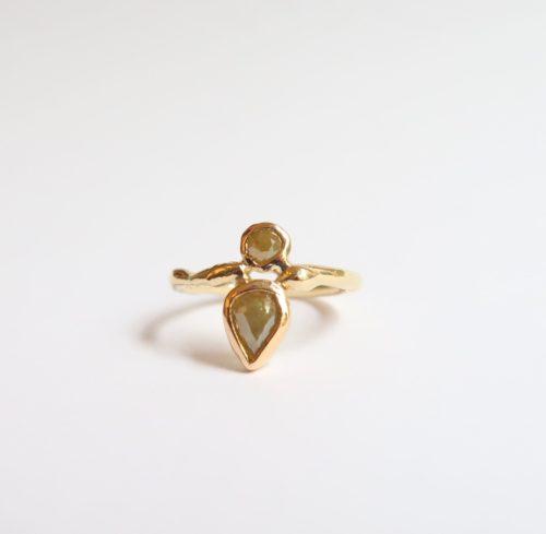 Weelderige Fonkel Ring