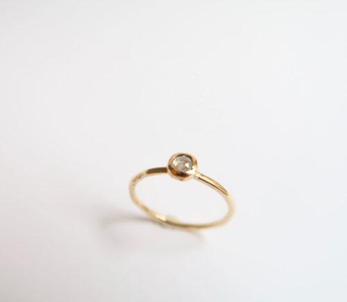 Rosecut Lichtgrijze Diamant