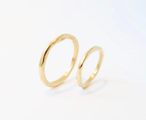 Gesmolten ringen
