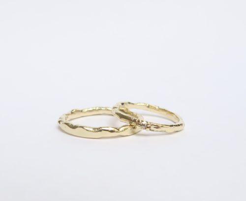 Een Elegante Set Weelderige Ringen