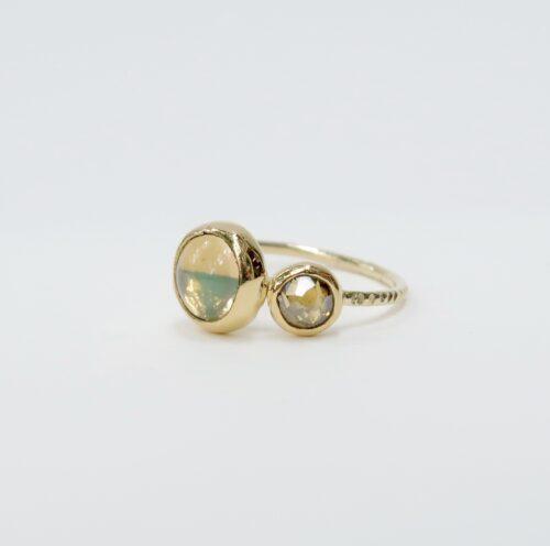 Welo Opaal en Fancy Diamond